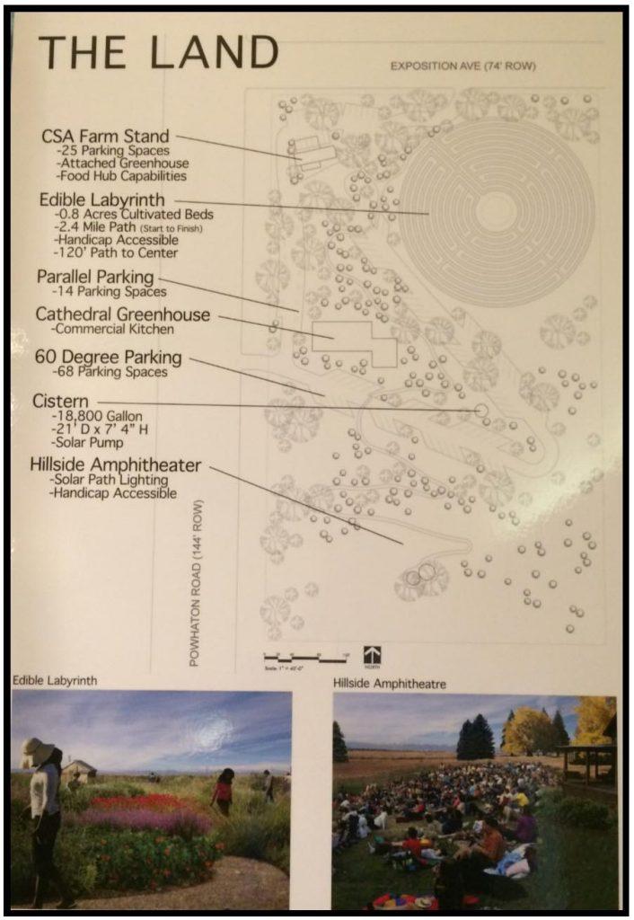 The Land design